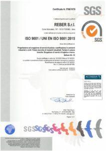 Reber Certificazione ISO 9001